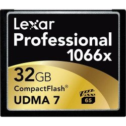 Lexar 32GB Professional 1066x Compact Flash Carte Compact Flash (CF)