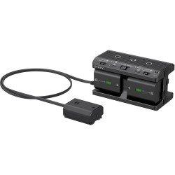 Kit 2 batteries + Adaptateur secteur - Sony NPA-MQZ1K Batteire Sony
