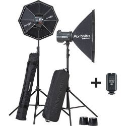 Elinchrom kit flash BRX 500/500 + 2 Softbox