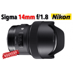 Sigma 14mm f/1.8 DG HSM Art - Nikon Grand Angle
