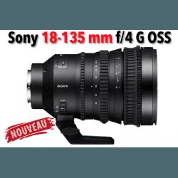 Sony E PZ 18-110 mm F4 G OSS - Objectif vidéo