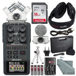 Enregistreur numérique Zoom H6 + Capsule MSH-6 Bundle
