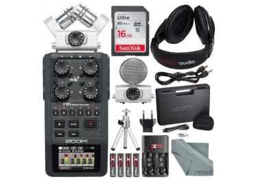 Enregistreur numérique Zoom H6 + Capsule MSH-6 Bundle Enregisteur