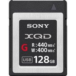 Sony XQD Memory Card G 128GB - Write 400 MB/s Carte XQD