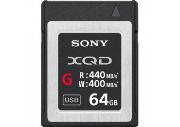 Sony XQD Memory Card G 64GB - Write 400 MB/s Carte XQD