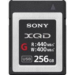 Sony XQD 256GB série G - Ecriture 400 MB/s