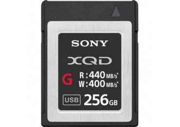 Sony XQD Memory Card G 256GB - Write 400 MB/s Carte XQD