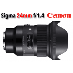Sigma 24mm f/1,4 DG HSM - Art - Monture Canon