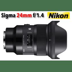 Sigma 24 mm f/1,4 DG HSM - Art - Monture Nikon
