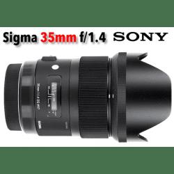 Sigma 35mm F1.4 DG HSM Art - Monture Sony (E)