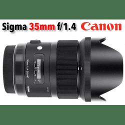 Sigma 35 mm f/1,4 DG HSM - Art - Monture Canon