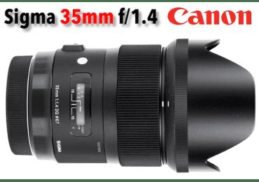 Sigma 35mm 1.4 DG HSM - Art - Phoxloc
