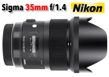 Sigma 35 mm f/1,4 DG HSM - Art - Monture Nikon Standard