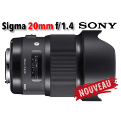 Sigma 20mm F1.4 DG HSM Art - Sony (E)