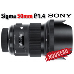 Sigma 50mm F1.4 DG HSM Art - Sony