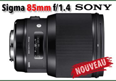 Sigma 85 mm F2.8 DG HSM Art - Sony (E)
