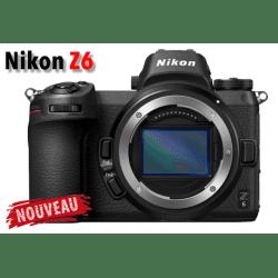 Nikon Z6 compact hybride plein format