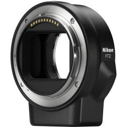 Bague Nikon FTZ vers Nikon (G/F) - Bague adaptatrice objectif Nikon F vers Boitier Nikon Z Bague & doubleur