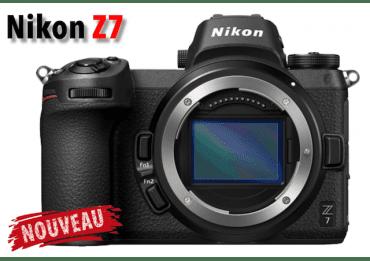 NIKON Z7 compact hybride plein format