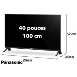 TV Panasonic TX40FXW654 Glossy - 40 pouces / 100 cm - 4K