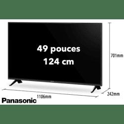 TV Panasonic TX-49FXW654 - 49 pouces / 123 cm - 4K Télévision