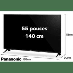 TV Panasonic TX-55FXW654 - 55 pouces / 140 cm - 4K Télévision