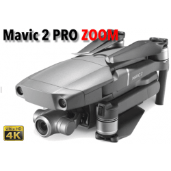 Drone DJI Mavic 2 Pro ZOOM - Pilotable sans licence