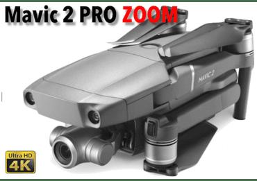Drone DJI Mavic 2 Pro ZOOM - Pilotable sans licence Les Drones