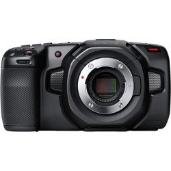 Blackmagic Pocket Cinema Camera 4K + (2x batterie / 1x Cage / 1x CFAST 128 Go) Caméra Vidéo
