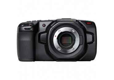 Blackmagic Pocket Cinema Camera 4K + (2x batterie / 1x CFAST 128 Go) Caméra Vidéo