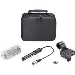 Micro Canon SONY XLR-K2M - kit adaptateur et microphone Micro Canon
