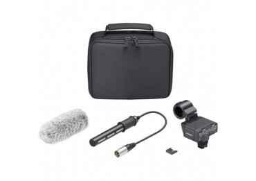 Micro Canon SONY XLR-K2M - kit adaptateur et microphone
