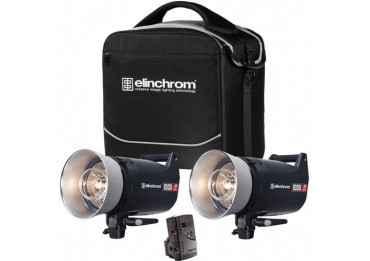 ELINCHROM kit d'éclairage ELC Pro HD 2 x 1000 W + émetteur Skyport plus