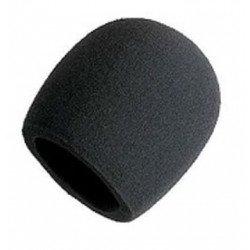 Bonnette en mousse pour micro cardioïde - noir