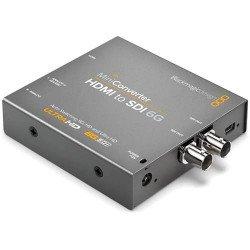 Mini convertisseur BLACKMAGIC HDMI vers SDI 6G Mélangeur et Régie Vidéo