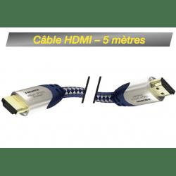 Câble HDMI M / HDMI M - 5 mètres Câble HDMI