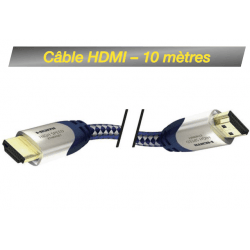 Câble HDMI M/M 10M - High Speed Premium Inakustik avec Ethernet