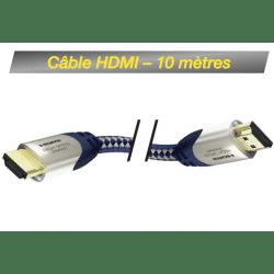 Câble HDMI M/M 10M - High Speed Premium Inakustik avec Ethernet Câbles & Connexion