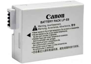 Batterie canon LP-E8 Batterie Canon