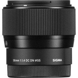 SIGMA 56 mm f/1.4 DC DN Contemporary monture Micro 4/3 Sigma - MFT