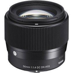 SIGMA 56 mm f/1.4 DC DN Contemporary - Monture Sony (E) Focale Fixe