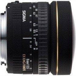 Sigma 8 mm f/3,5 EX DG Fisheye - Monture Nikon Fisheye