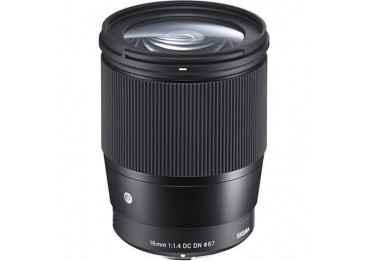 Sigma 16mm f/1.4 DC DN Contemporary - Monture Micro 4/3