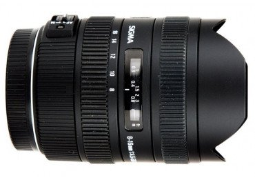 Sigma 8-16mm 4.5-5.6 DC HSM