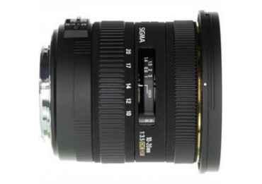 Sigma 10-20mm f/3,5 EX DC HSM - Monture Nikon Grand Angle