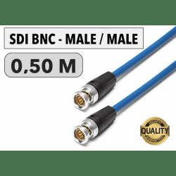 Cordon SDI BNC Male/Male de 0,50 M