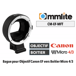 Commlite Canon EF -- MFT Monture (MFT)