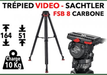 Trépied Vidéo Sachtler FSB 8 T FT MS - System Flowtech