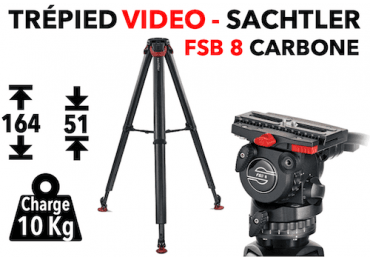 Trépied Vidéo Sachtler FSB 8 T FT MS - System Flowtech Trépied vidéo