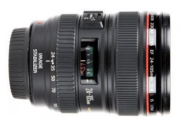 Canon 24-105 mm f/4 L IS USM - Objectif Photo Objectif Canon EF